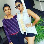 Shilpa Manjunath With Her Sister