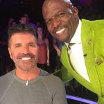 Terry Crews In America's Got Talent With Simon