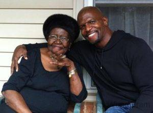 Terry Crews With His Mother