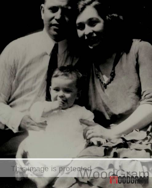Carol Channing Childhood Image With Her Parents