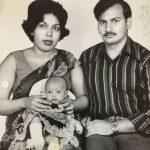 Flora Saini Family