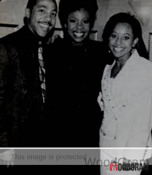 Gladys Knight Children Rare Image