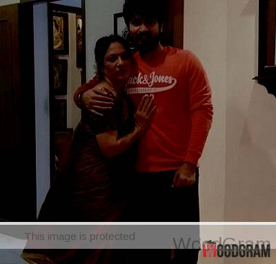 Harish Kalyan With His Mother