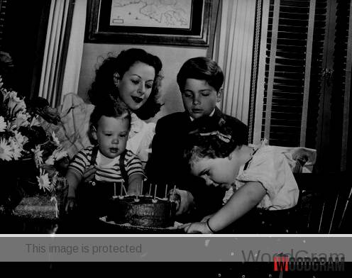 Hedy Lamarr Children