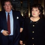 John Candy With His Wife