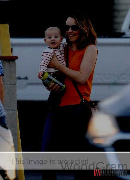 Rachel McAdams With Her Son - Baby