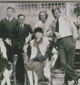 Will Rogers With His Family