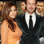 Eva Mendes With Her Partner Ryan Gosling