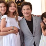 Jason Bateman With His Wife And Daughters