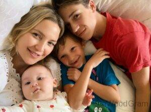 Kate Hudson With Her Children
