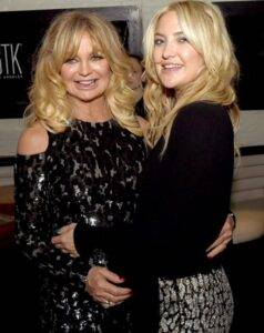 Kate Hudson With Her Mother Goldie Hawn