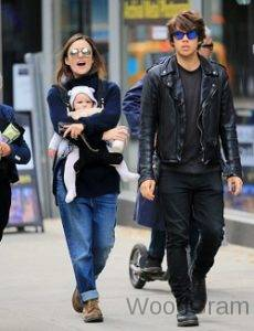 Keira Knightley With Her Husband And Children