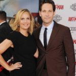 Paul Rudd With His Wife