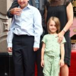 Paul Rudd With His Wife And Children