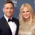 Rob Lowe With His Wife