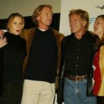 Robert Redford With His Son And Daughters