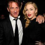 Sean Penn With Ex Wife Madonna