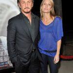 Sean Penn With Wife Robin Wright
