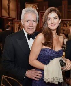 Alex Trebek With His Wife