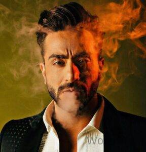 Aly Goni Smoking