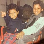 Baseer Ali Childhood Image With His Brother