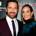 Gerard Butler With His GF Morgan Brown