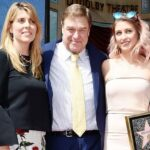 John Goodman With His Wife And Daughter