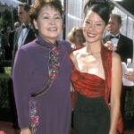 Lucy Liu With Her Mother