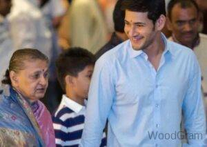 Mahesh Babu With His Mother