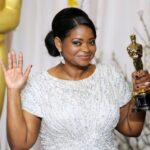 Octavia Spencer With Her Oscar Award