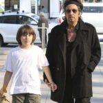 Al Pacino With His Son