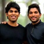 Allu Sirish with Allu Arjun