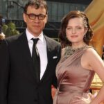 Elisabeth Moss With Her Ex Husband