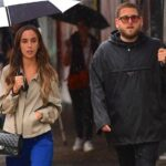 Jonah Hill With His GF
