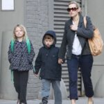 Kate Winslet With Her Children