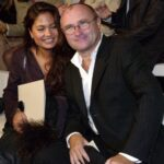 Phil Collins With His Ex Wife Orianne