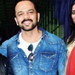 Rohit Shetty With His Wife And Son