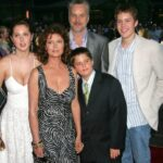 Susan Sarandon WIth Her Children And Partner