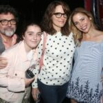 Tina Fey With Husband And Daughters