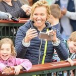 Toni Collette With Her Children