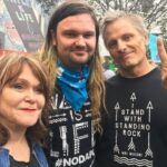 Viggo Mortensen With His Ex Wife And Son