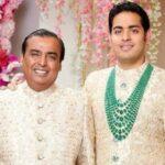 Akash Ambani Father