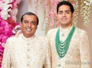 Akash Ambani Father