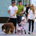 Amanda Seyfried With Her Husband And Daughter