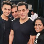 Arpita Khan with Salman Khan
