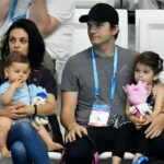 Ashton Kutcher With His Wife And Kids