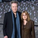 Christopher Walken With His Wife