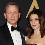 Daniel Craig With His Wife