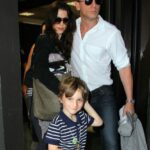 Daniel Craig With His Wife And Daughter