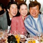Jackie Chan With His Wife And Son